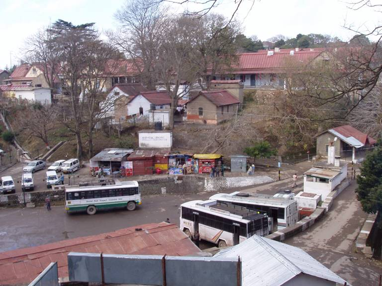 Kasauli bus station