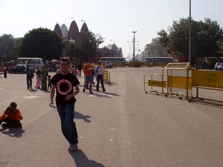 Kay at the Red Fort