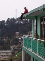 Rajes on top of Green Hotel
