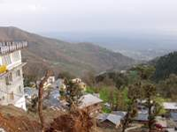 View to Dharamshala