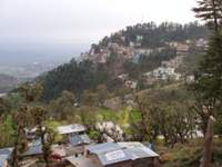 View South to Dharamshala