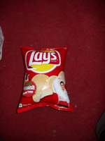 Self-inflatable crisps at 2000 meters