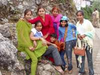 A family from Delhi, U.P.