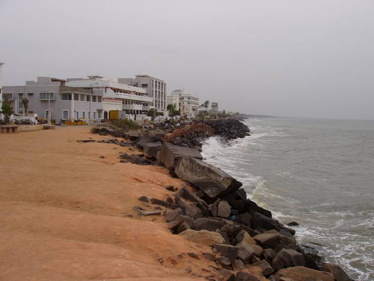 Bay of Bengal at Pondicherry